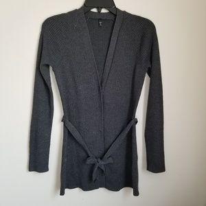 Tahari Belted Cardigan